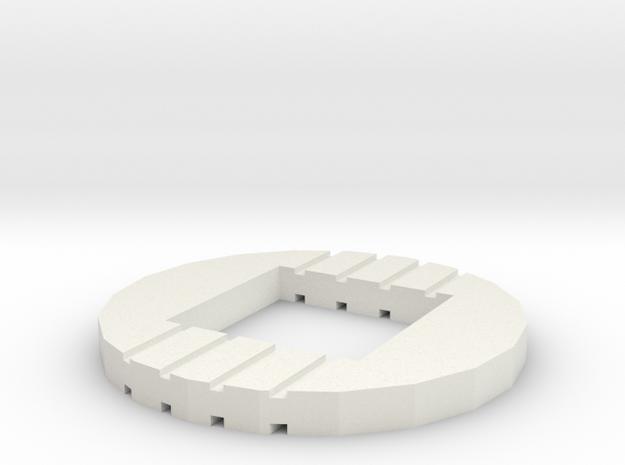 XTB - MM-IX Klatuu - Buttom base light adapter in White Natural Versatile Plastic