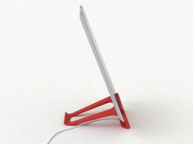 the perfect stand for iPad 2 in White Strong & Flexible