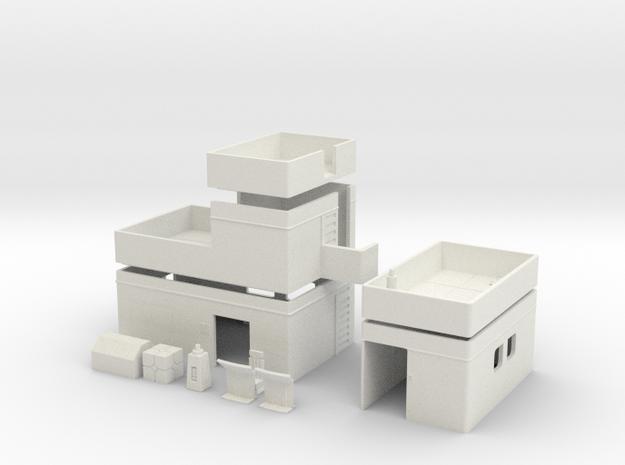 Free Download - SCIFI OUTPOST in White Natural Versatile Plastic