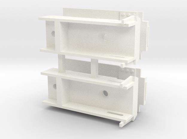 Lionel ACF Covered Hopper Kadee Coupler Box in White Processed Versatile Plastic