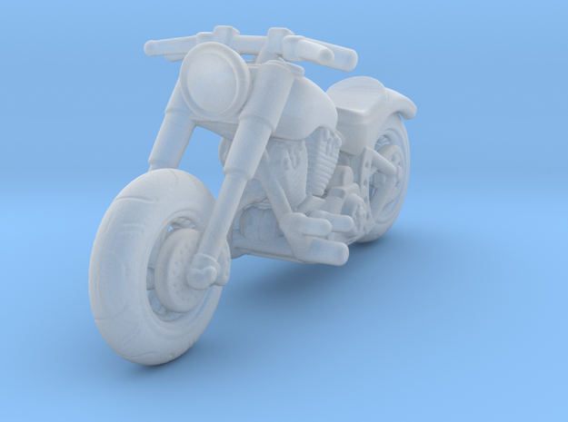 Harley Davidson Solo 1:160 N in Smooth Fine Detail Plastic