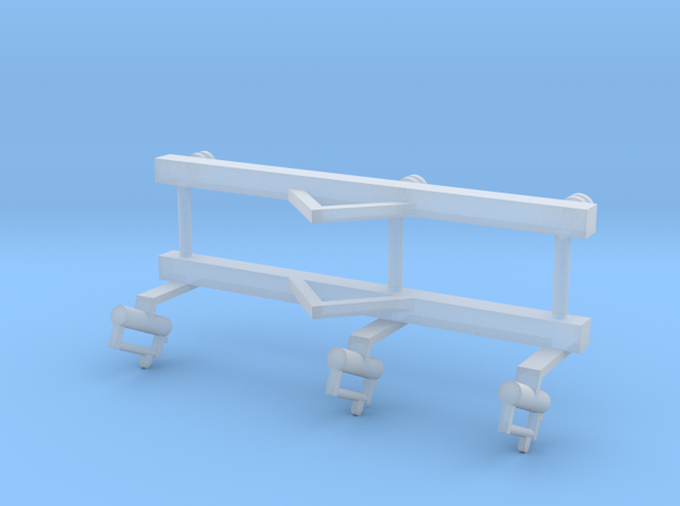 1/64 3 Phase Pole Cross in Smooth Fine Detail Plastic