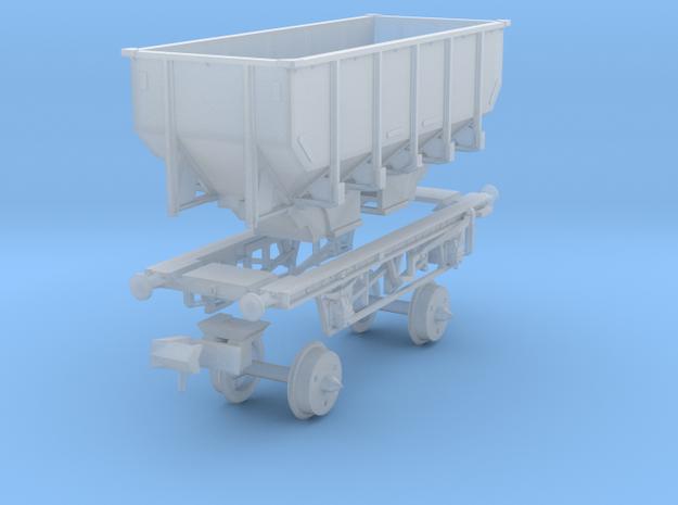 British Railways Prototype 24.5 ton coal hopper in Smoothest Fine Detail Plastic