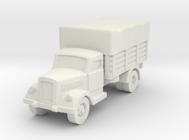 opel blitz (covered) scale 1/160 in White Natural Versatile Plastic