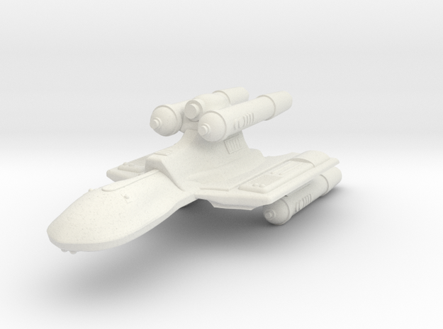 3125 Scale Romulan KillerHawk Super-Heavy Cruiser in White Natural Versatile Plastic