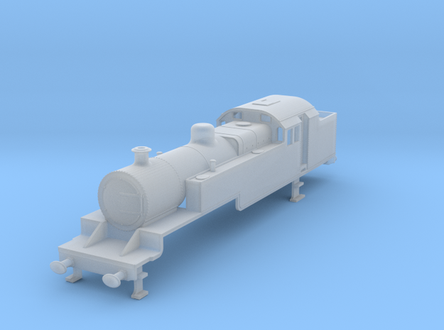 b-148fs-lms-fowler-2-6-4t-loco-limo in Smooth Fine Detail Plastic