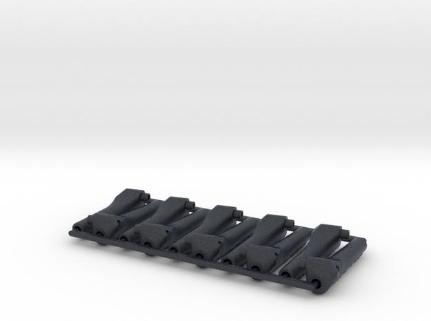 10x Push Rod mounts v.1.2 / 10º (Mirror) in Black PA12
