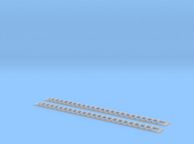 Windows for SP Suburban Bachmann 72' Coach Convers