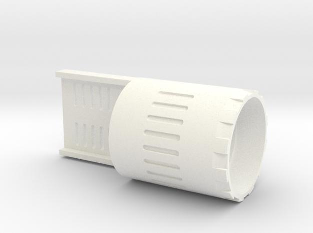 89 Qui-Gon Speaker Holder in White Processed Versatile Plastic