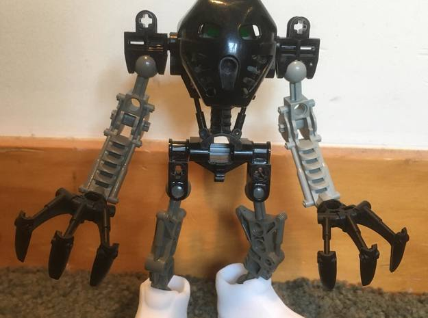 TIMBS for your Bionicle! in White Natural Versatile Plastic