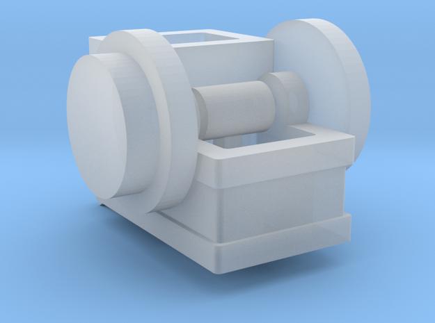 Steinbrecher mit Transmissionsantrieb TT 1:120 in Smooth Fine Detail Plastic