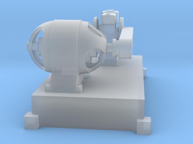 Motor-Generator-Satz (V10) mit Transmission TT 1:1 in Smooth Fine Detail Plastic