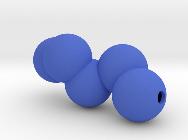 Neckbubbles in Blue Processed Versatile Plastic