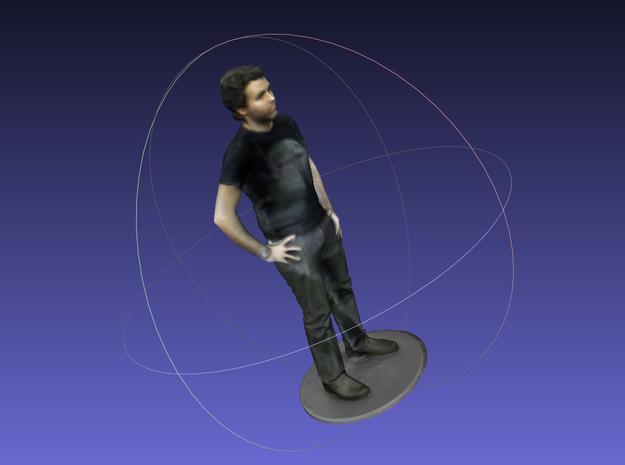 Body Scan Apollo 3D Color 3d printed