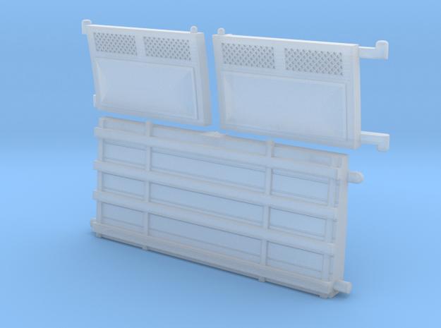 Hornby Dublo doors for BR Standard Horsebox in Smooth Fine Detail Plastic