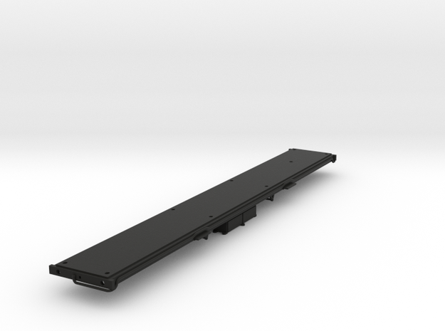 LNWR Chassis, OO in Black Natural Versatile Plastic