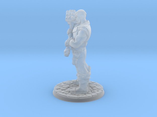 Trog in Smooth Fine Detail Plastic