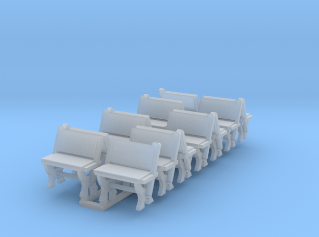 LNWR seating B, OO in Smooth Fine Detail Plastic