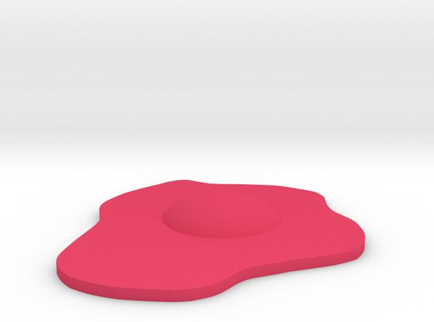 egg in Pink Processed Versatile Plastic