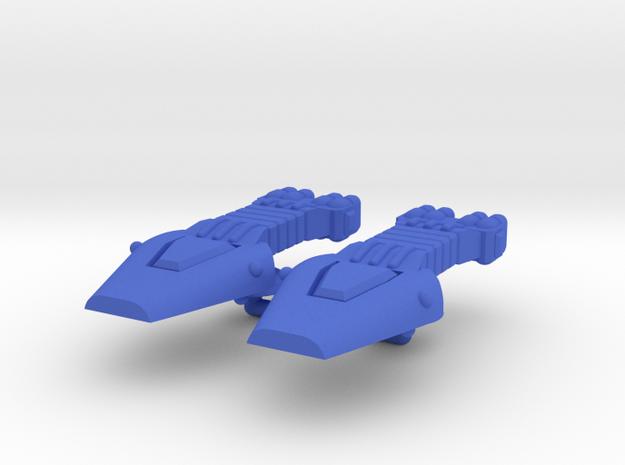 Lambda Generic Large Warship Group in Blue Processed Versatile Plastic