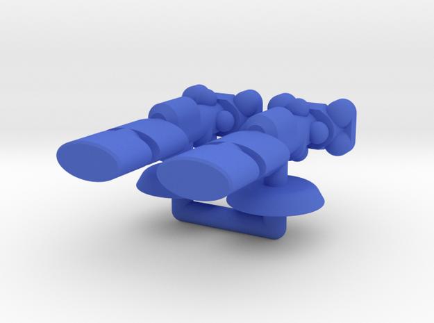 Alpha Generic Large Transport Squadron in Blue Processed Versatile Plastic