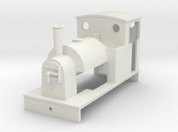 5.5 mm scale Saddle tank loco 3 in White Natural Versatile Plastic
