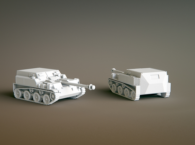 Asu 57 Scale: 1:144 in Smooth Fine Detail Plastic
