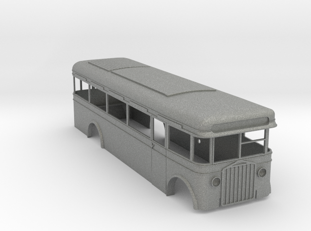 Dion Bouton Karrosserie 1:43 in Gray Professional Plastic