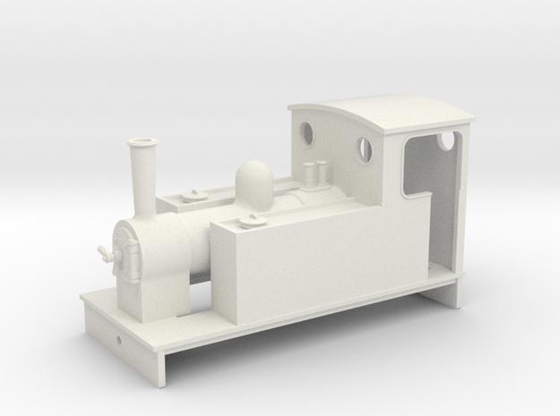 5.5 mm scale side tank loco 61 in White Natural Versatile Plastic