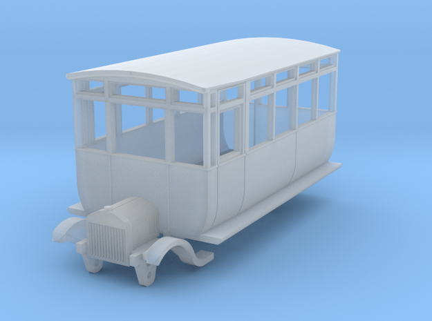 0-148fs-ford-railcar-1 in Smooth Fine Detail Plastic