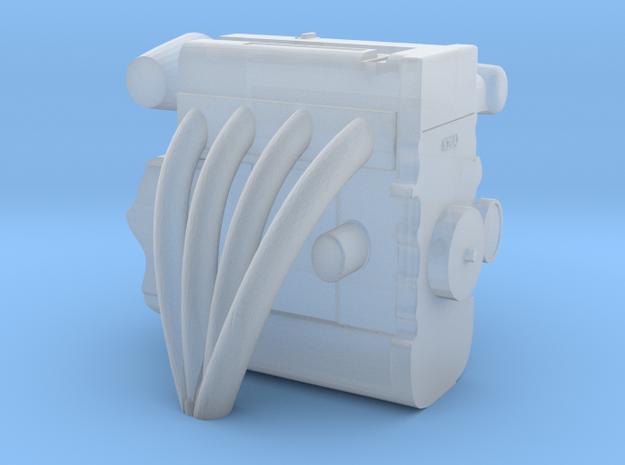 1/64 4 Cylinder DOHC Engine  in Smoothest Fine Detail Plastic