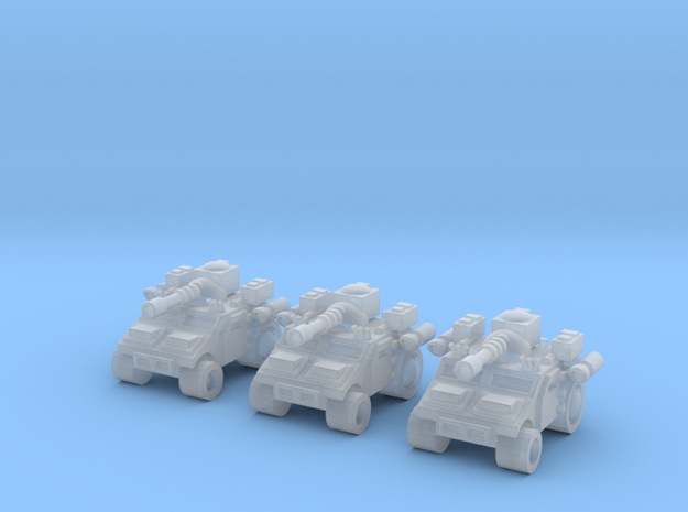 Multi Role High Mobility Vehicle in Smooth Fine Detail Plastic