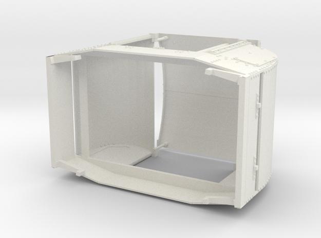 a-7-8-open-simplex in White Natural Versatile Plastic