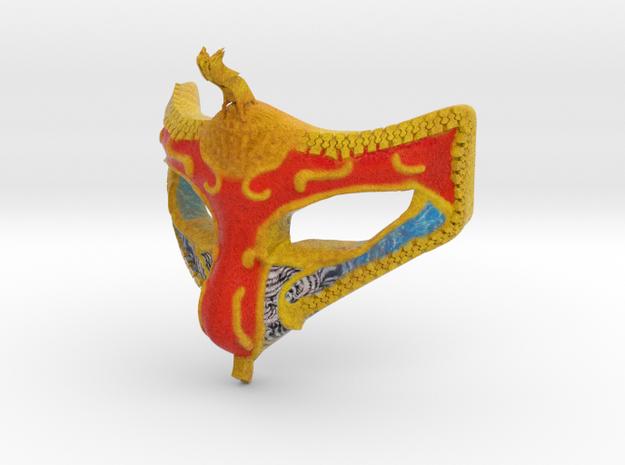 Mask in Natural Full Color Sandstone