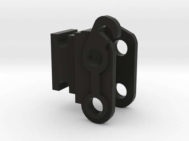 Snelwissel 8 tons midikranen 1:50 modelbouw in Black Natural Versatile Plastic