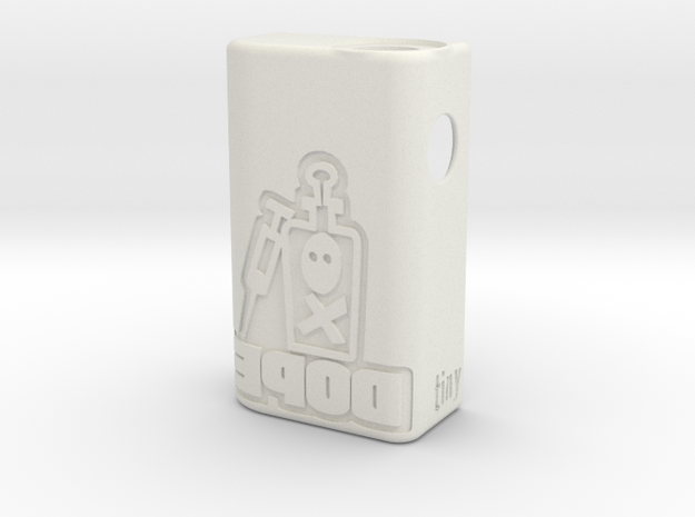TBF# - Squonk DOPE Body - 21700 in White Natural Versatile Plastic