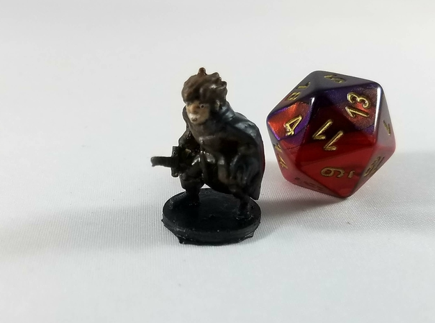Halfling Master Thief in Smooth Fine Detail Plastic