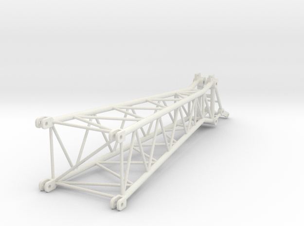 top section for the LF 2 in White Natural Versatile Plastic