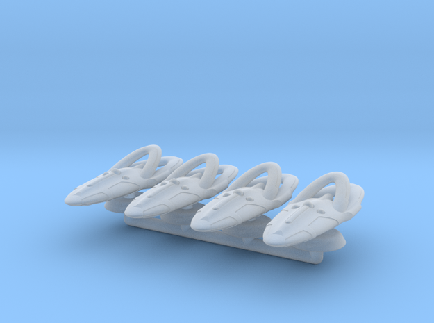 Theta Generic Large Warship Squadron in Smooth Fine Detail Plastic