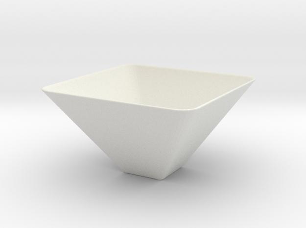 Vase Mod 003 in White Natural Versatile Plastic