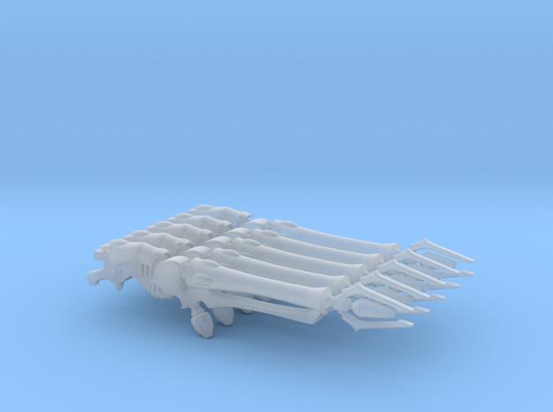 Space Elf - Dark Eldar - Haywires x5 in Smooth Fine Detail Plastic
