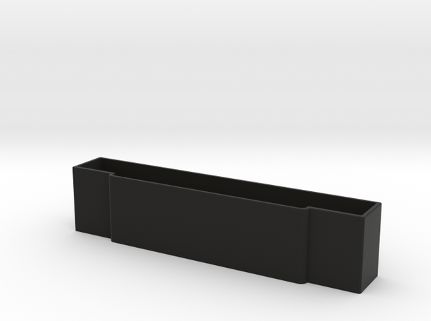 SNES Cartridge Dust Covers in Black Natural Versatile Plastic