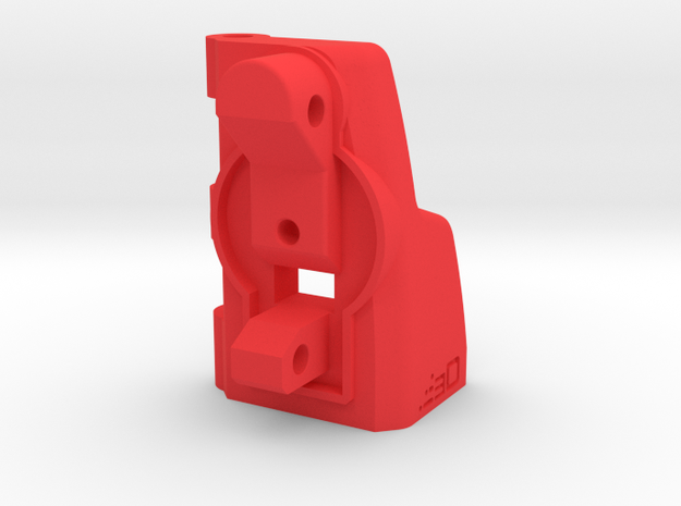 MP5K to G36 Shoulder Stock Adapter in Red Processed Versatile Plastic