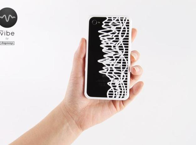 The Vibe iPhone Case - 1012005:71.57 3d printed
