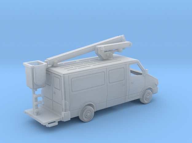 Service Van With Bucket 1-87 HO Scale in Smooth Fine Detail Plastic