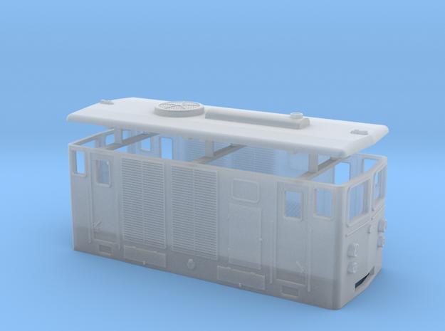 D2 diesel loco / Locomotiva diesel D2 in Smooth Fine Detail Plastic