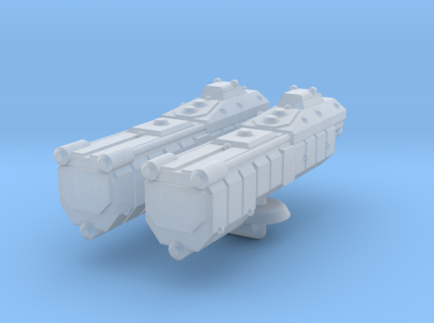Sigma Generic Large Warship Group in Smooth Fine Detail Plastic