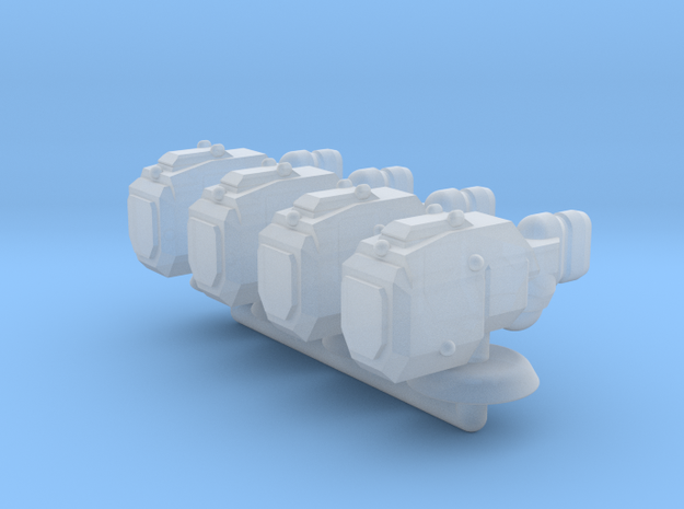 Sigma Generic Small Warship Squadron in Smooth Fine Detail Plastic
