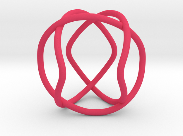 Link with Dihedral Symmetry in Pink Processed Versatile Plastic