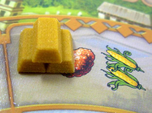 Gold Replacements for Tzolk'in, Set of 30 in Full Color Sandstone